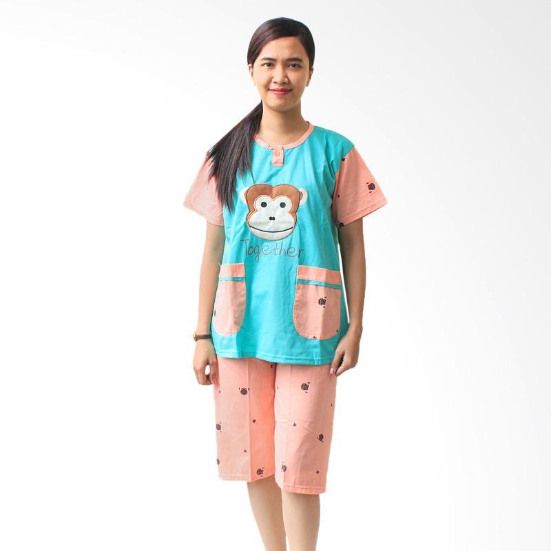 Aily 513 Setelan Baju Tidur Wanita - Tosca