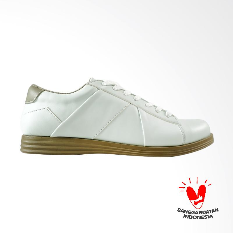 Dane And Dine Cester Sepatu Pria - White