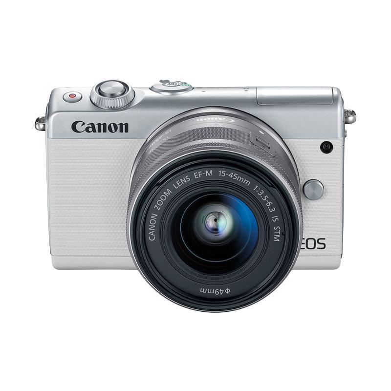 CANON EOS M100 KIT LENS 15-45 WHITE