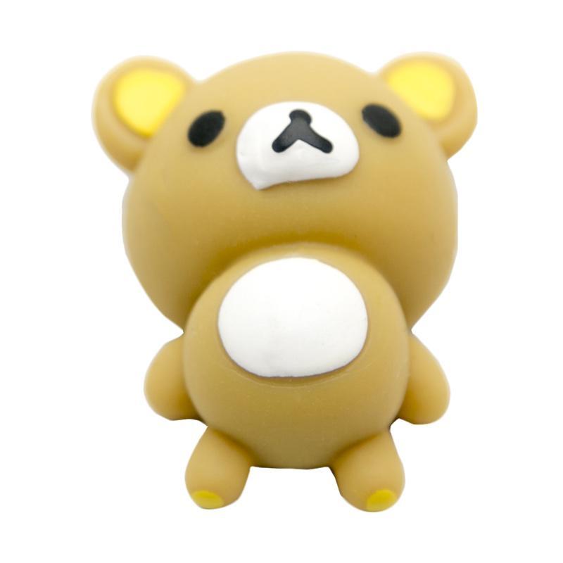 HAN Moni Moni Scented Original Korea Sleeping Rilakuma Squishy Mainan Edukasi - Brown