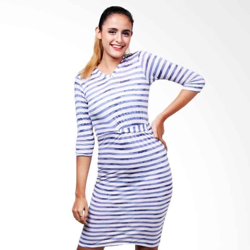 Boontie Venus Slr Nv Dress - Salur Navy