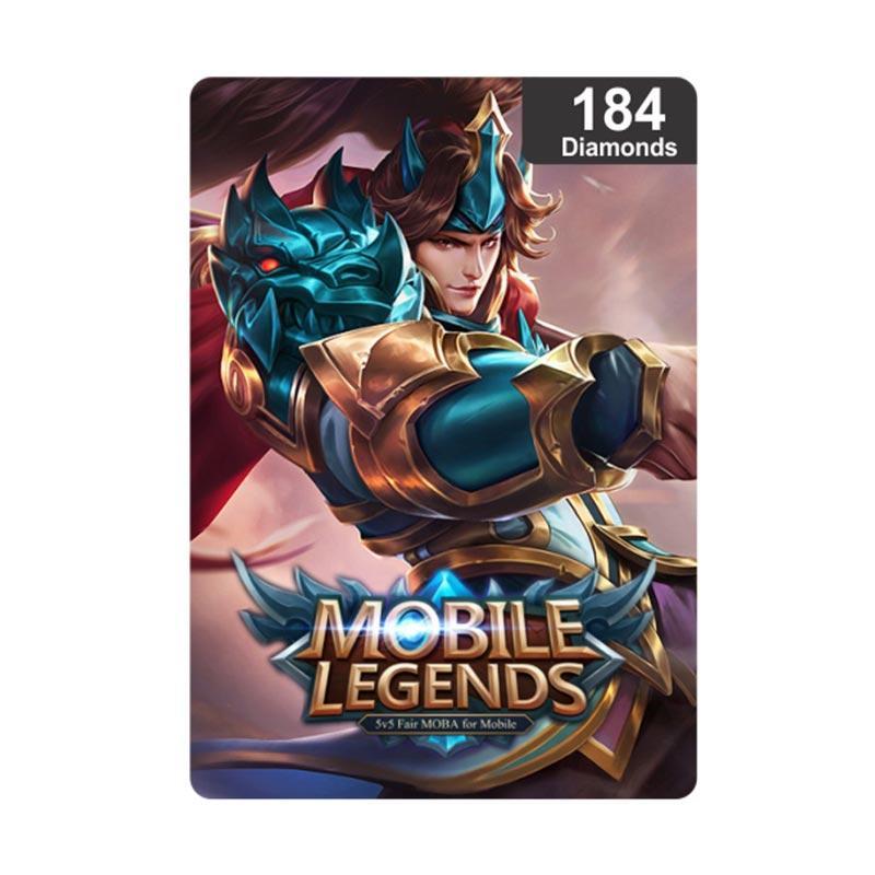 Diamond Mobile Legends 184 Voucher Game