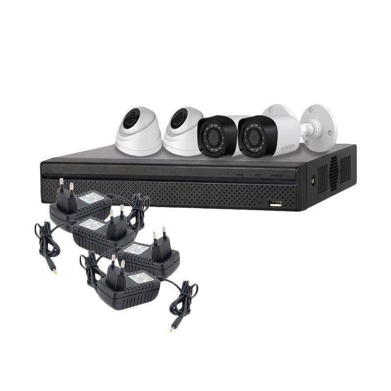 SUWOON Paket 4 Kamera CCTV