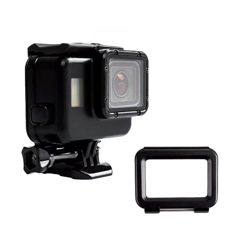 OEM Waterproof Housing Touch Screen Case for GoPro Hero 5 - Black