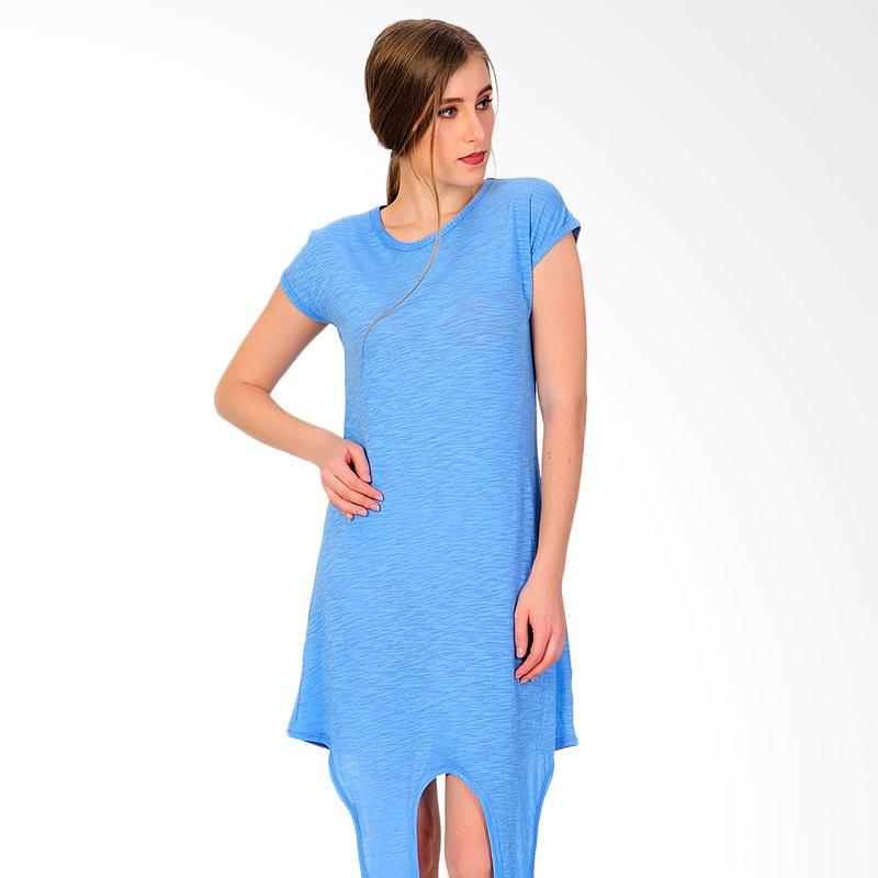 SJO & SIMPAPLY SJO's Stiller Mini Dress Women - Blue