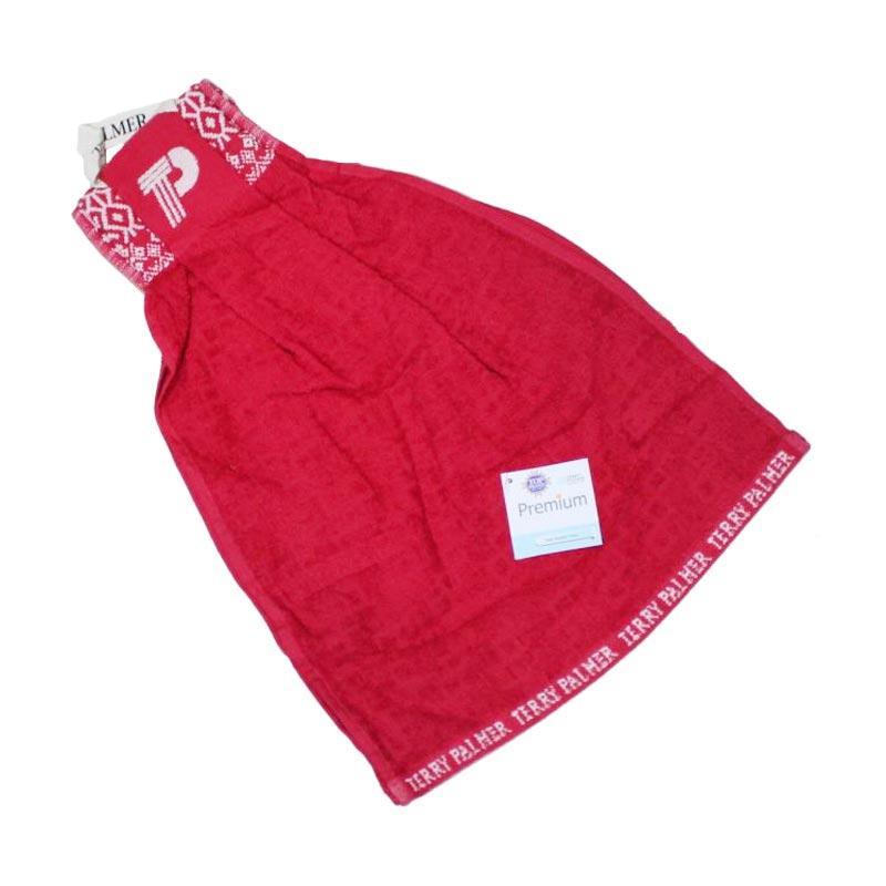 Terry Palmer Premium 12 Serbet Handuk - Merah [34 x 100 cm]