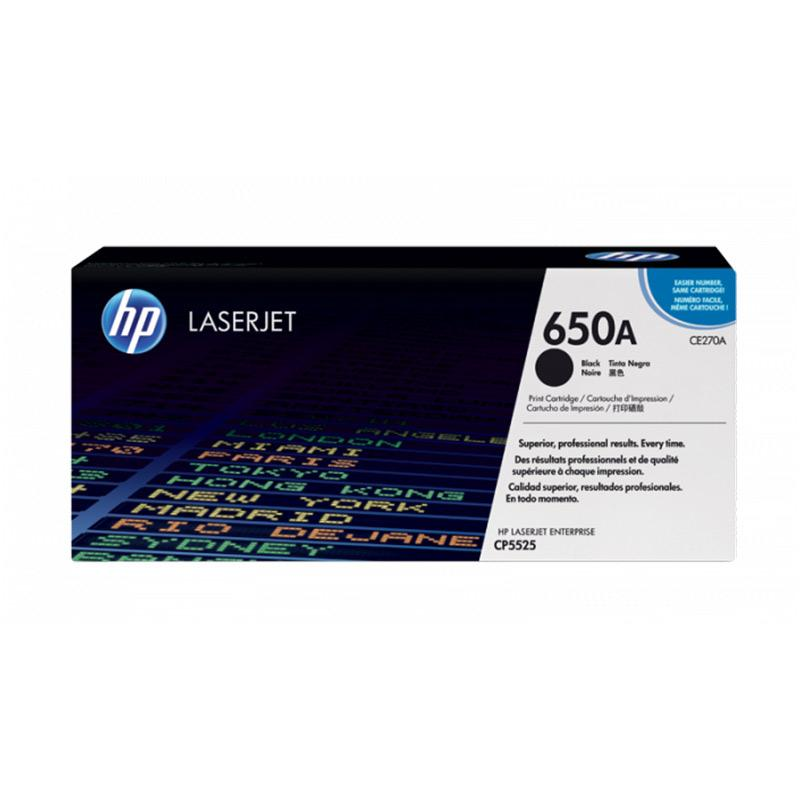 harga HP Toner Cartridge for Hp Color LaserJet CP5525 - Black Blibli.com