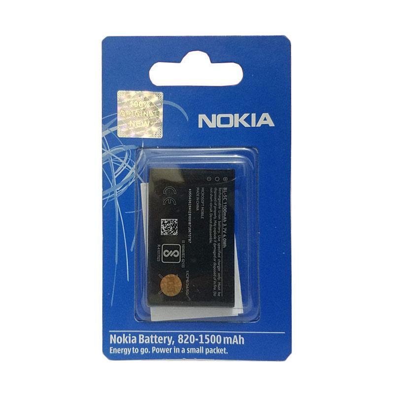 harga Nokia Original BL-5C Baterai Handphone for 110/3100/7610 Blibli.com