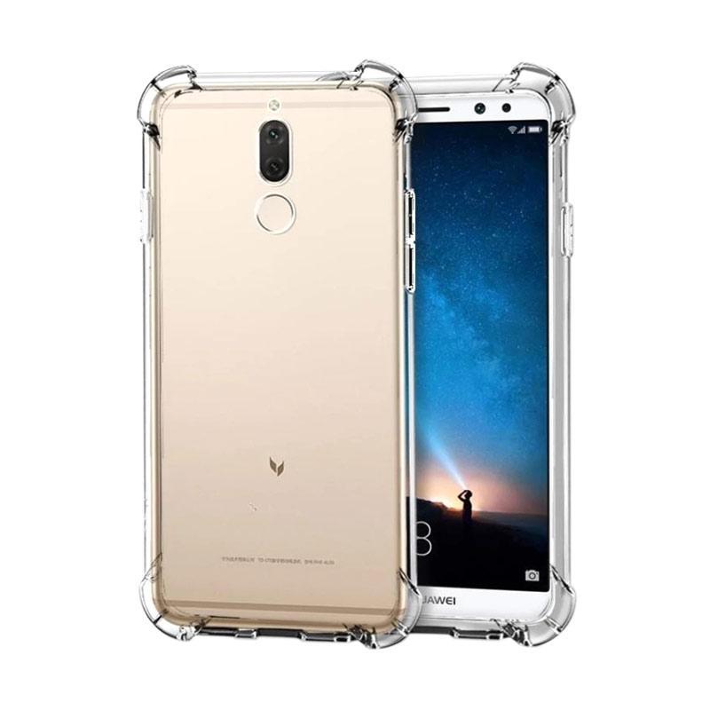 QCF Anti Shock Anti Crack Silikon Softcase Casing for Huawei Nova 2i - Transparan