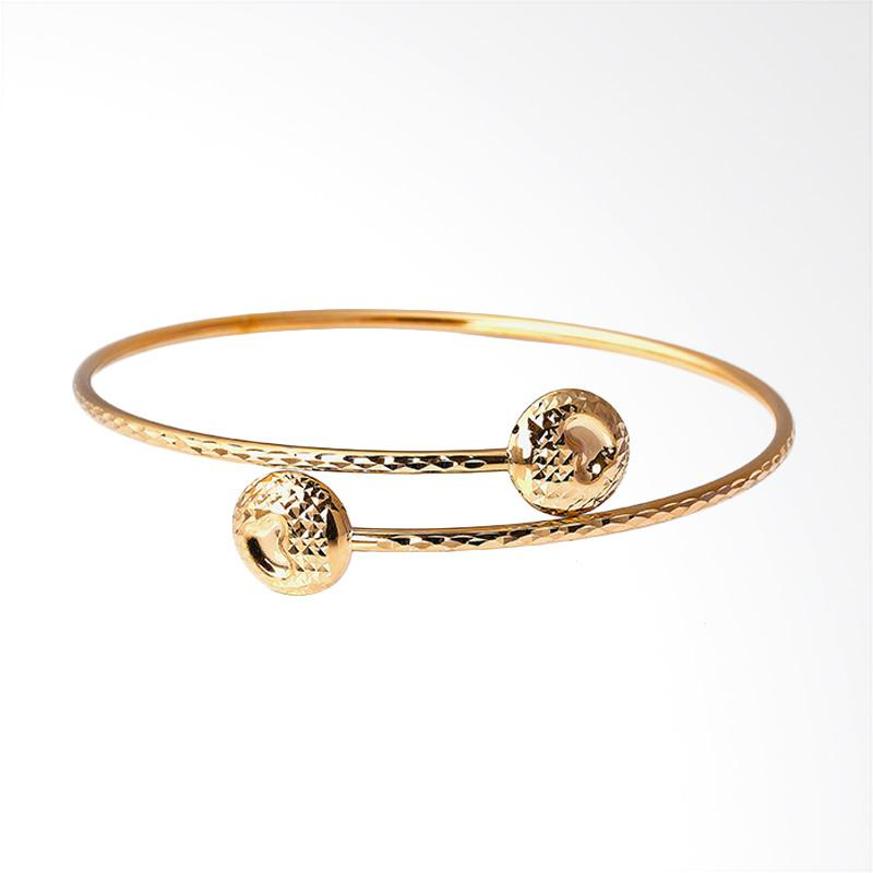WhizLiz Clarena Bangle Gelang Emas - Gold [18K]