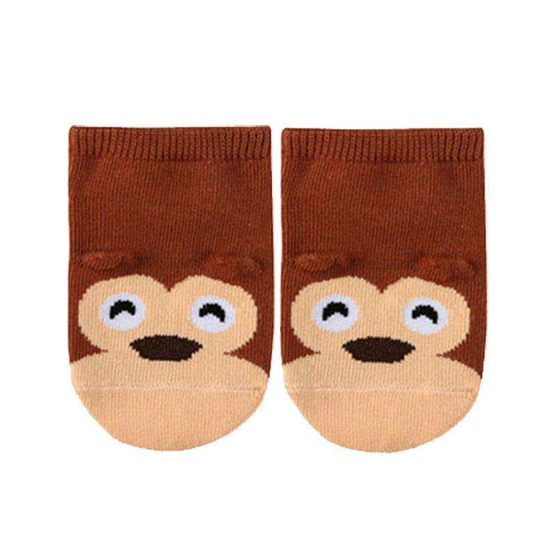 Abby Baby Monkey Kaos Kaki Bayi - Adorable Brown