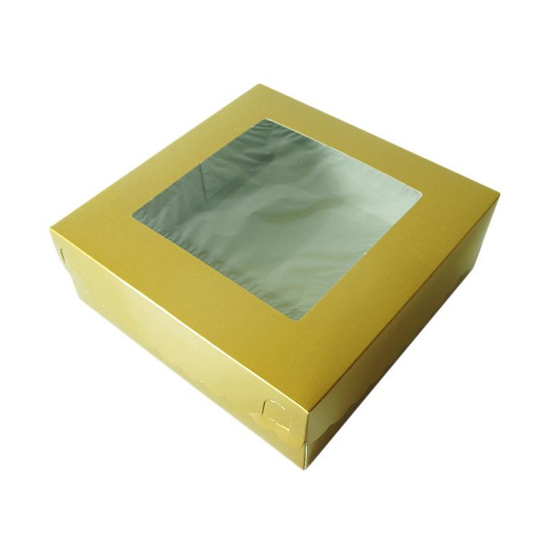 Titan Baking Dus FP Peralatan Kue - Emas [22 X 22 cm/ 10 Lembar]