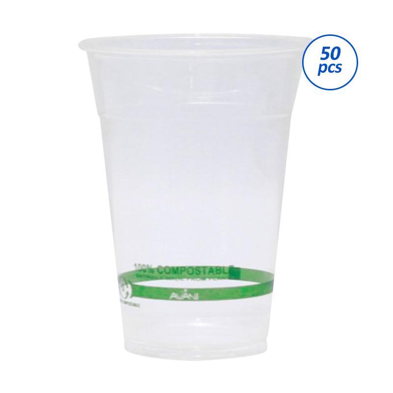 Avani Bio-PLA Cup [12 oz/ 50 pcs/pack]