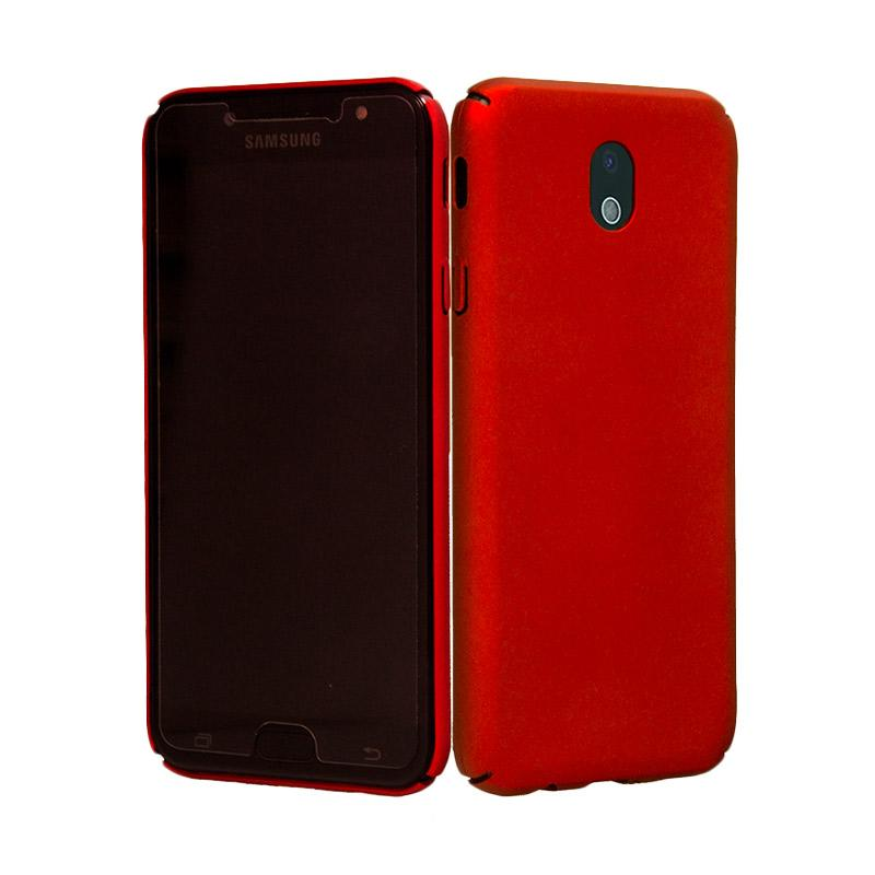 OEM BABY Skin Ultrathin Hardcase Casing for Samsung J7 Pro - Red