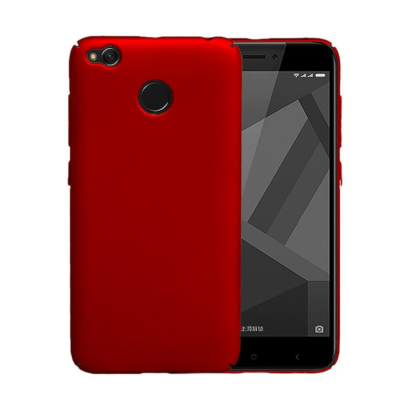 OEM Baby Skin Ultra Thin Hardcase Casing for Xiaomi Redmi 4x - Red