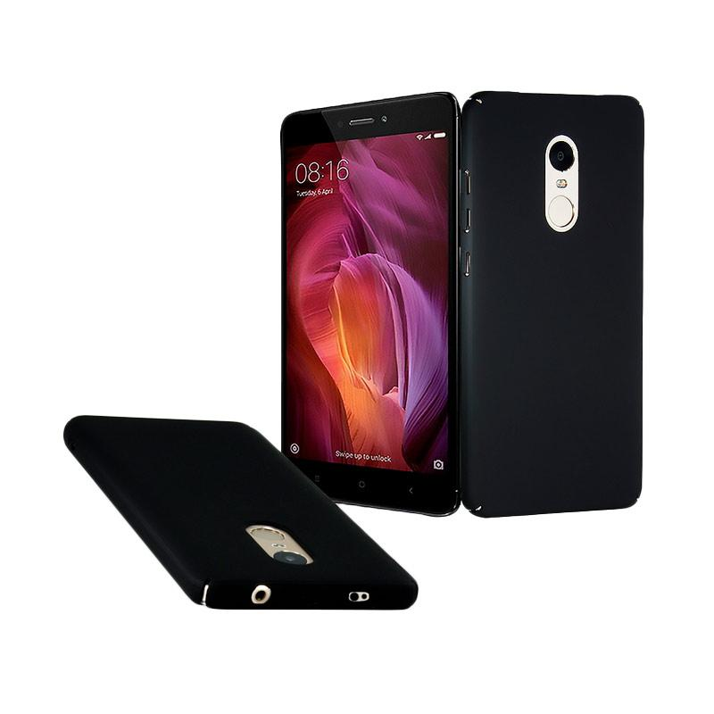 OEM Baby Skin Ultra Thin Hardcase Casing for Xiaomi Redmi Note 4 Snapdragon - Black