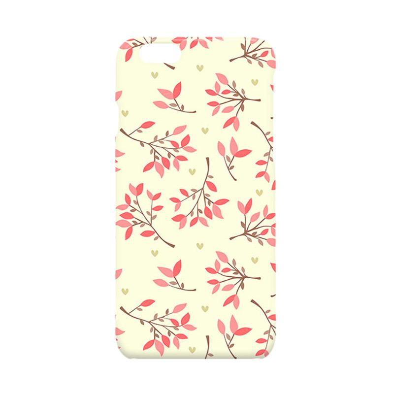 Premiumcaseid Cute Floral Seamless Shabby Hardcase Casing for iPhone 6 or iPhone 6s