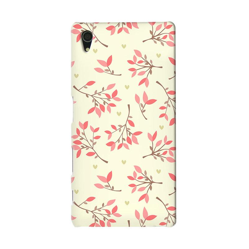 Premiumcaseid Cute Floral Seamless Shabby Hardcase Casing for Sony Xperia Z5
