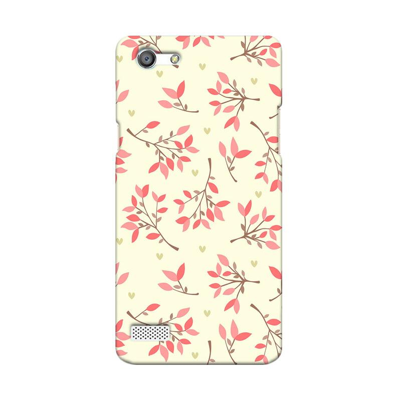 Premiumcaseid Cute Floral Seamless Shabby Hardcase Casing for Oppo Neo 7 A33