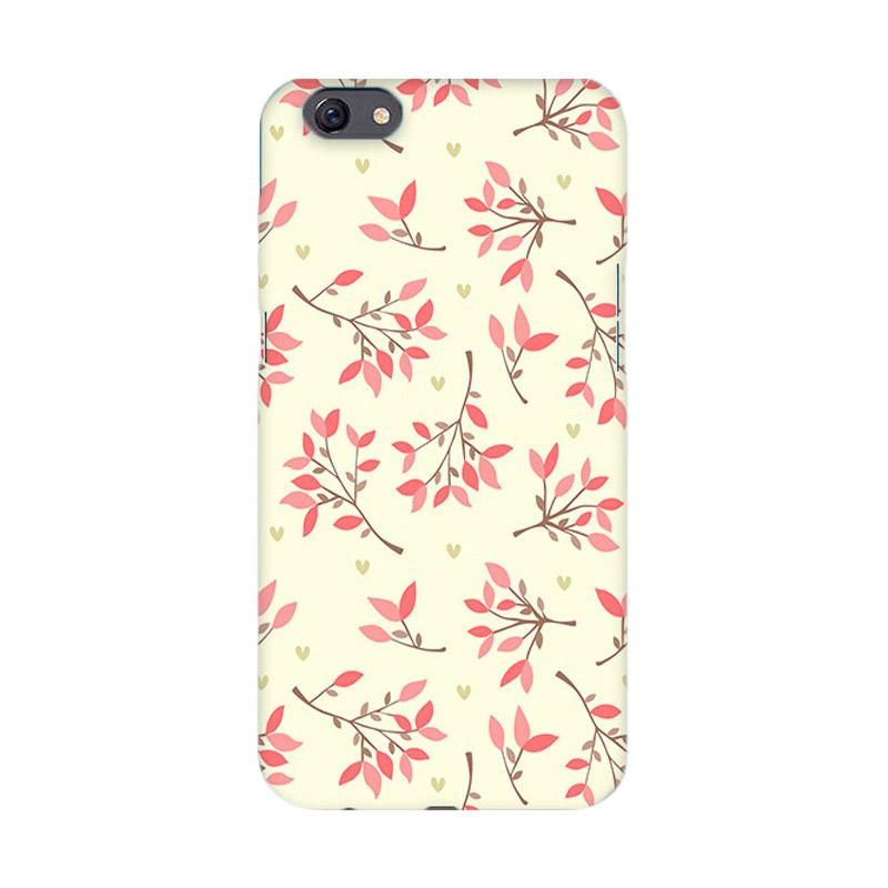 Premiumcaseid Cute Floral Seamless Shabby Hardcase Casing for Oppo F3