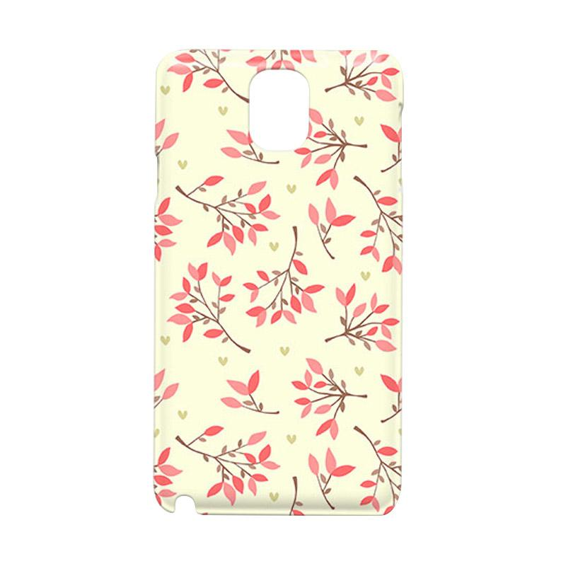 Premiumcaseid Cute Floral Seamless Shabby Hardcase Casing for Samsung Galaxy Note Edge