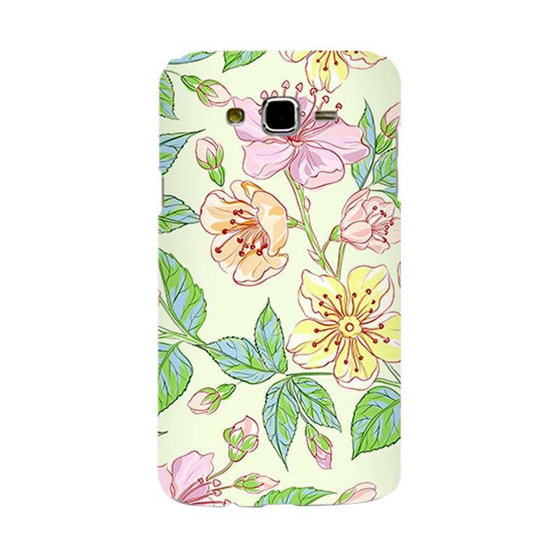 Premiumcaseid Beautiful Flower Wallpaper Hardcase Casing for Samsung Galaxy J7