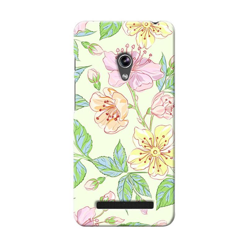 Premiumcaseid Beautiful Flower Wallpaper Hardcase Casing for Asus Zenfone 5