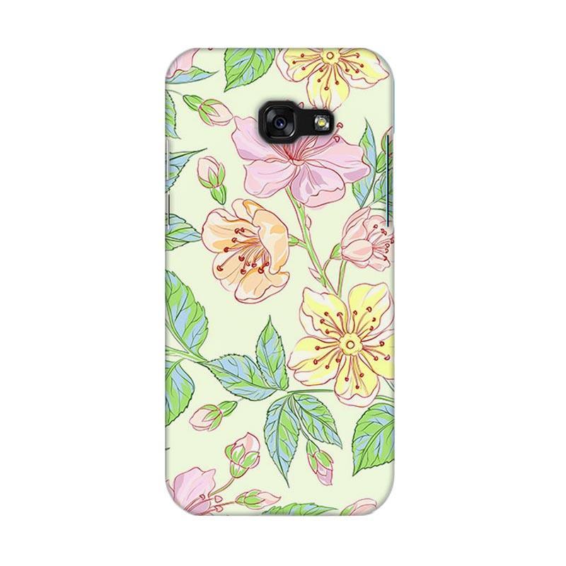 Premiumcaseid Beautiful Flower Wallpaper Hardcase Casing for Samsung Galaxy A5 2017