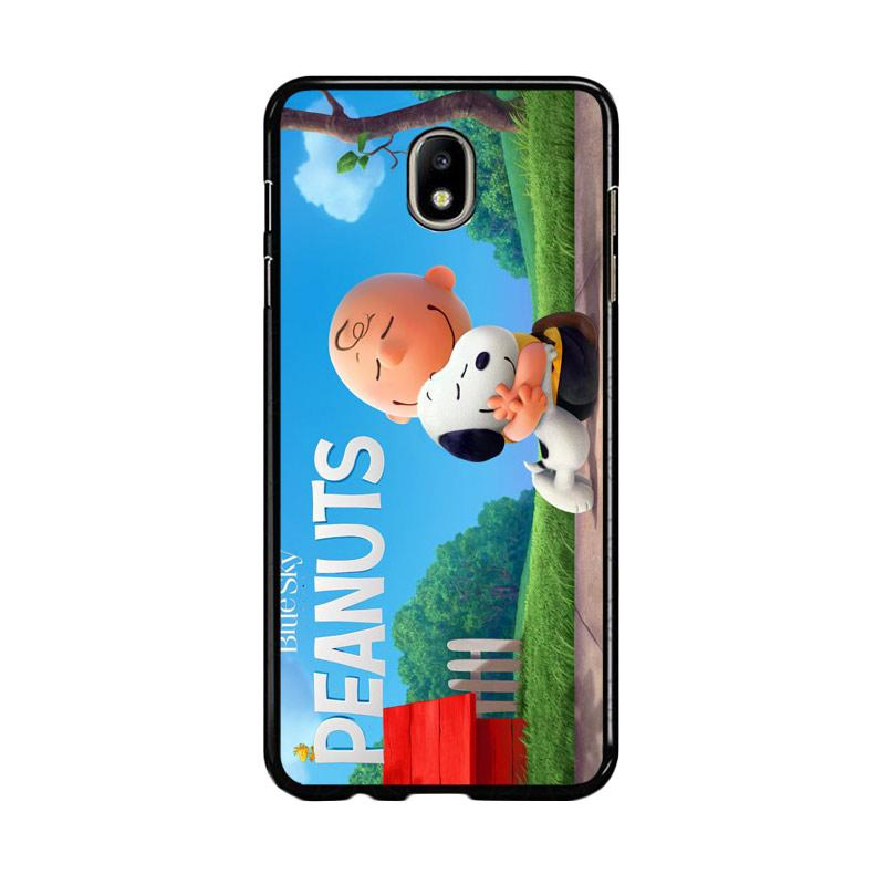 Flazzstore Peanuts Movie Animation Z0283 Custom Casing for Samsung Galaxy J5 Pro 2017