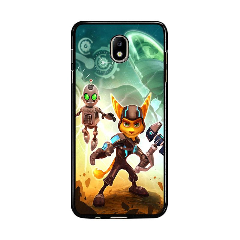 Flazzstore Ratchet And Clank Z1150 Custom Casing for Samsung Galaxy J7 Pro 2017