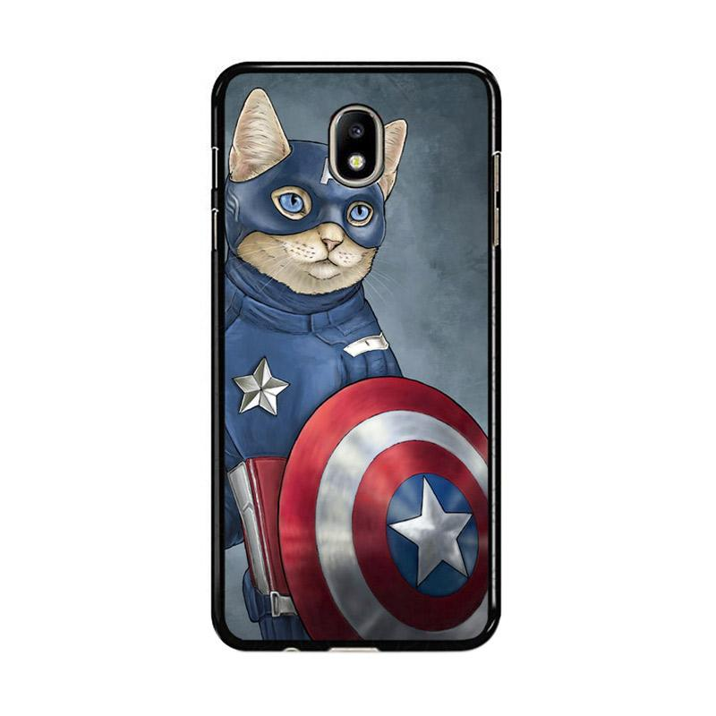 Flazzstore Captain America Cat Z0998 Custom Casing for Samsung Galaxy J5 Pro 2017