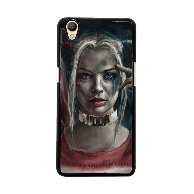 Flazzstore Harley Quinn O0314 Custom Casing for OPPO Neo 9 or OPPO A37