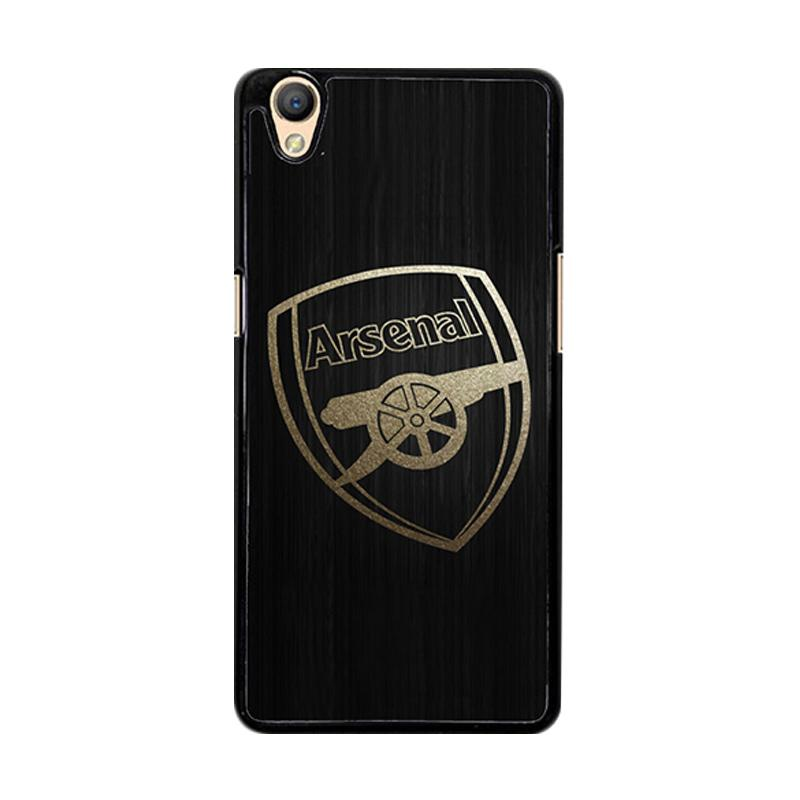 Flazzstore Arsenal Logo Gold O0487 Custom Casing for Oppo Neo 9 A37