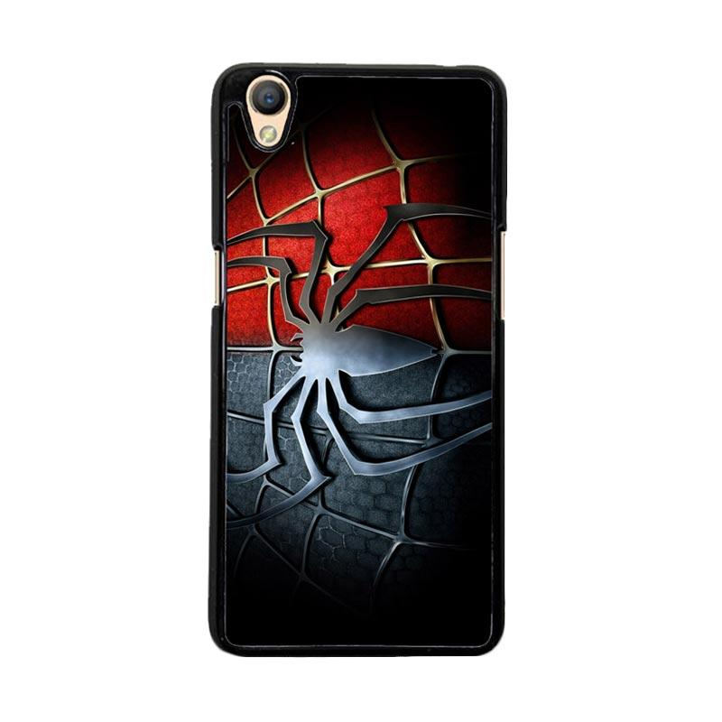 Flazzstore Spiderman Symbol F0221 Custom Casing for Oppo Neo 9 or Oppo A37