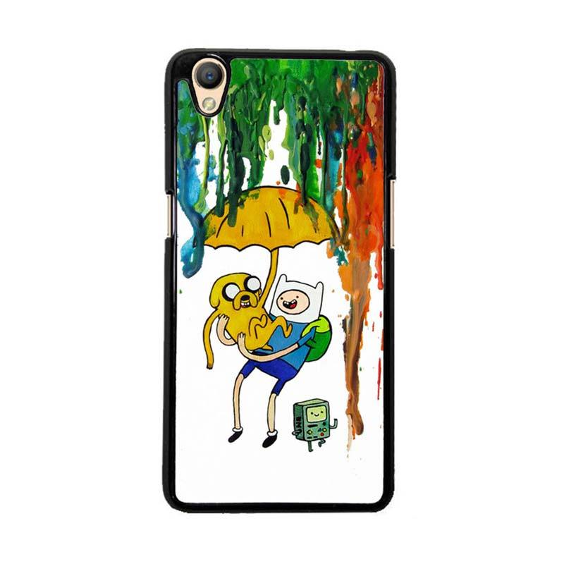 Flazzstore Adventure Time Painting F0254 Custom Casing for Oppo Neo 9 A37