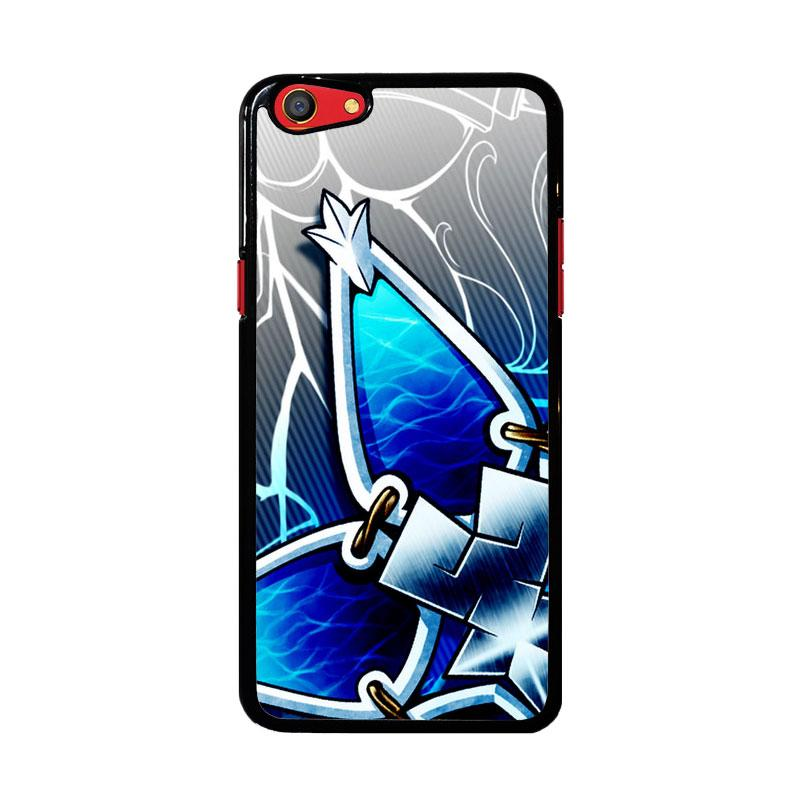 Flazzstore Kingdom Hearts Aqua Wayfinder Z0357 Custom Casing for Oppo F3