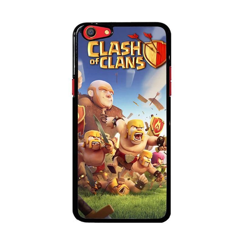 Flazzstore Clash Of Clans Mobile Games Z0430 Custom Casing for Oppo F3