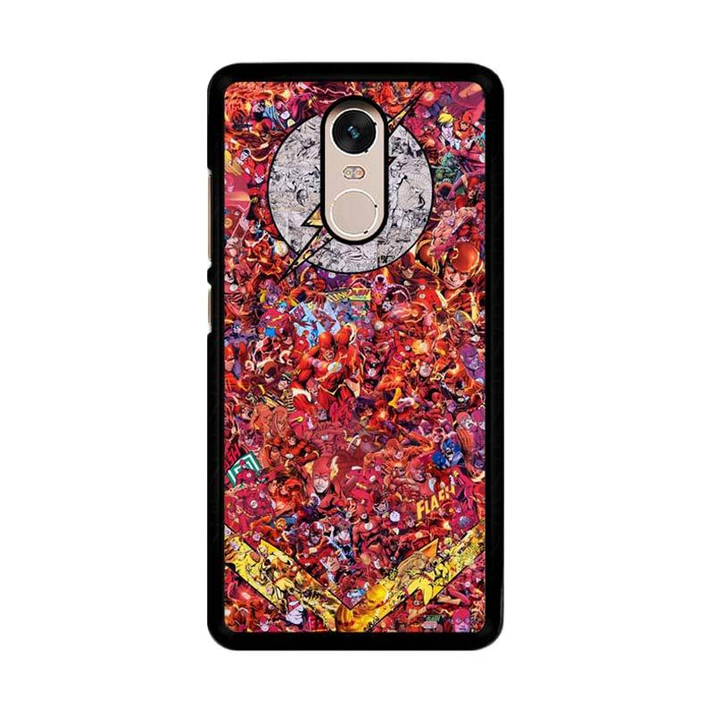 Flazzstore Flash-0002 O0143 Custom Casing for Xiaomi Redmi Note 4 or Note 4X Snapdragon Mediatek