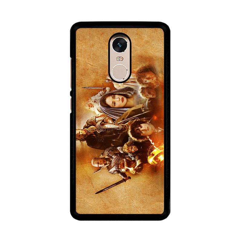 Flazzstore Hobbit Lord Of The Ring Lotr Art Z0105 Custom Casing for Xiaomi Redmi Note 4 or Note 4X Snapdragon Mediatek