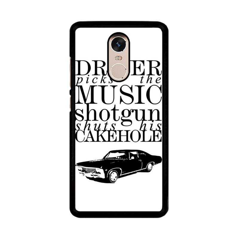 Flazzstore Supernatural Z0198 Custom Casing for Xiaomi Redmi Note 4 or Note 4X Snapdragon Mediatek