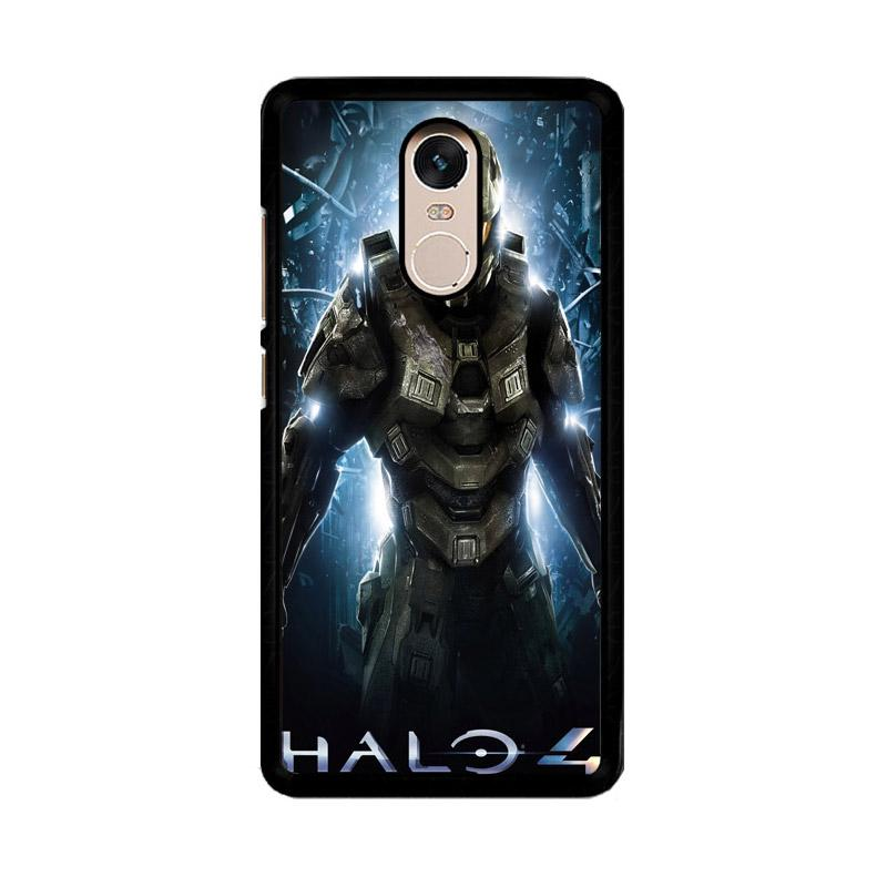 Flazzstore Halo Full Body Z0409 Custom Casing for Xiaomi Redmi Note 4 or Note 4X Snapdragon Mediatek