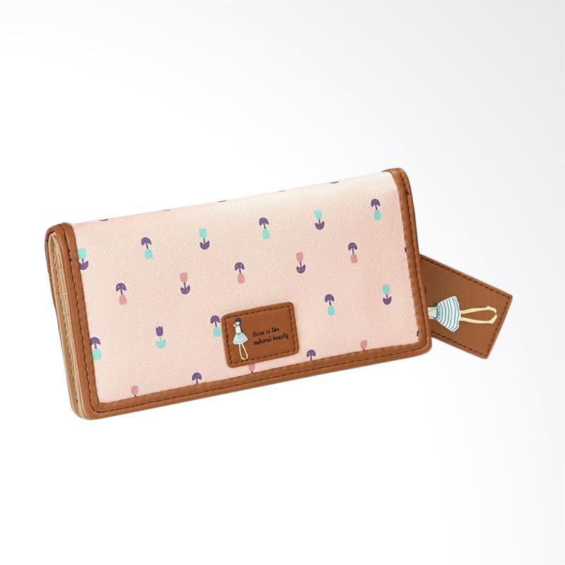 Jims Honey Dolly Wallet Dompet Wanita - Soft Pink