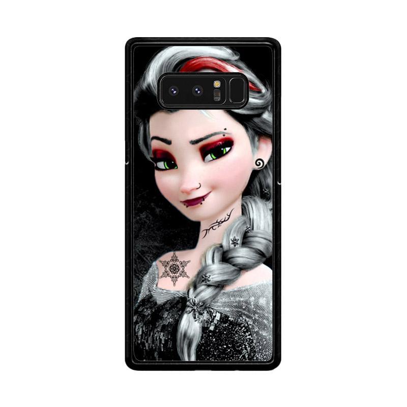 Flazzstore Punk Elsa Frozen Z0601 Custom Casing for Samsung Galaxy Note8