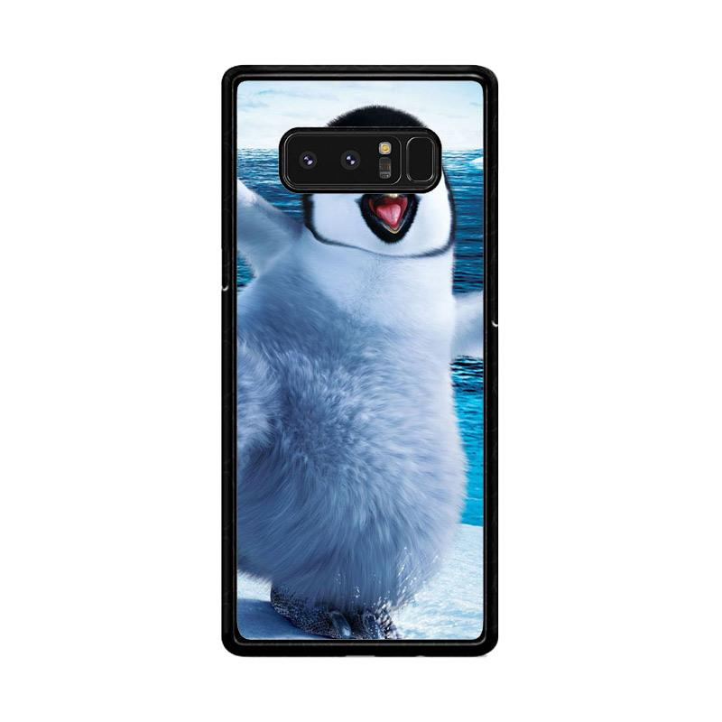 Flazzstore Happy Feet Penguin F0448 Custom Casing for Samsung Galaxy Note8
