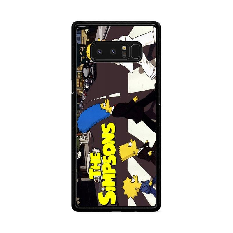 Flazzstore The Simpsons A Tribute The Beatles F0814 Custom Casing for Samsung Galaxy Note8