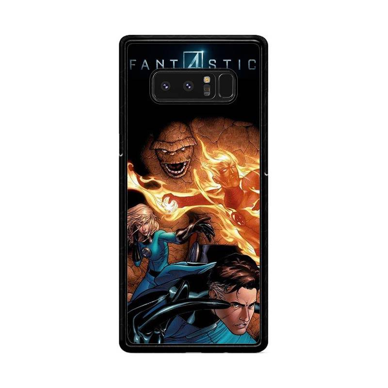 Flazzstore Fantastic Four Fantastic Four Z0014 Custom Casing for Samsung Galaxy Note 8