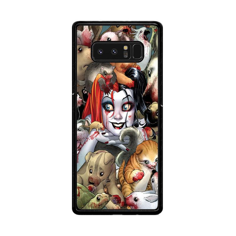 Flazzstore Harley Quinn Textless Z0242 Custom Casing for Samsung Galaxy Note8