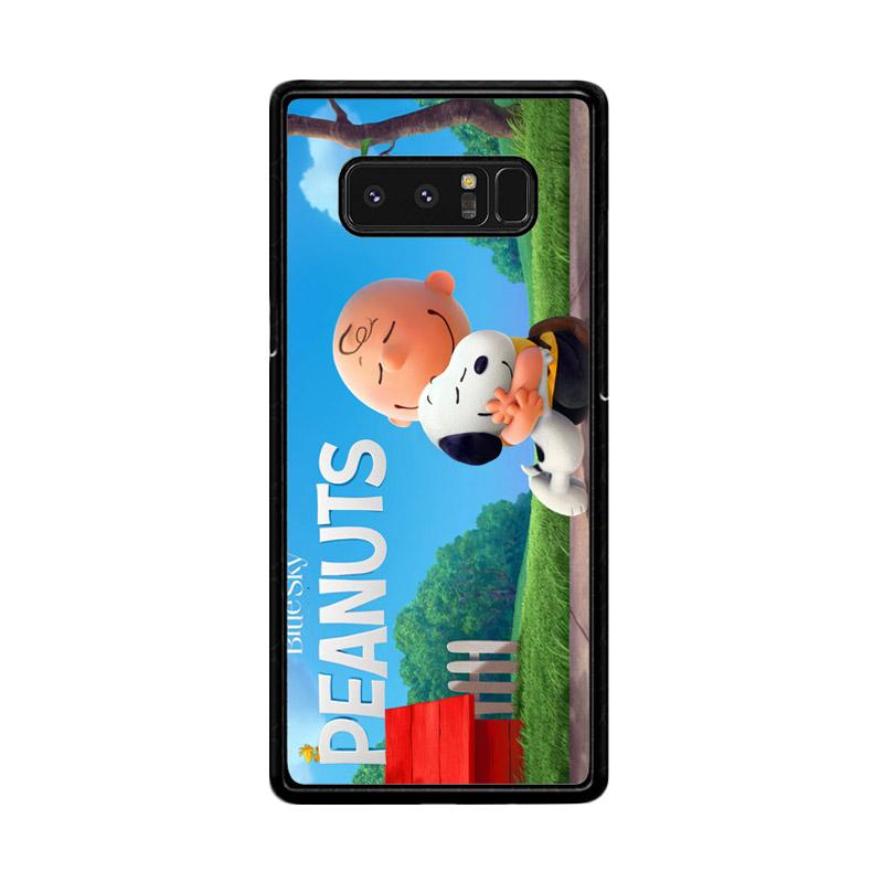 Flazzstore Peanuts Movie Animation Z0283 Custom Casing for Samsung Galaxy Note 8