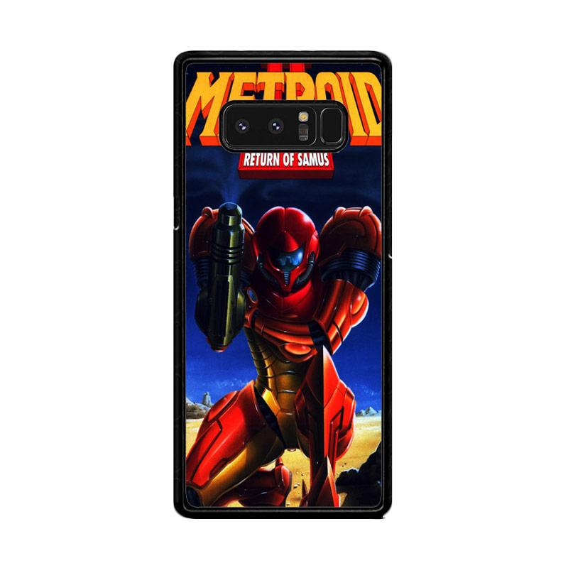 Flazzstore Metroid Video Games Z1109 Custom Casing for Samsung Galaxy Note 8