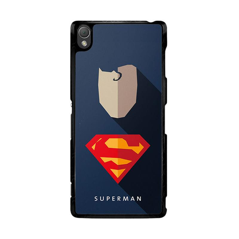Flazzstore Superhero Superman O0247 Custom Casing for Sony Xperia Z3